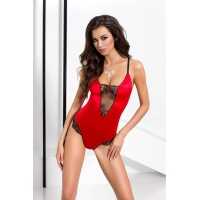 Боди BRIDA BODY red XXL/XXXL - Passion Exclusive