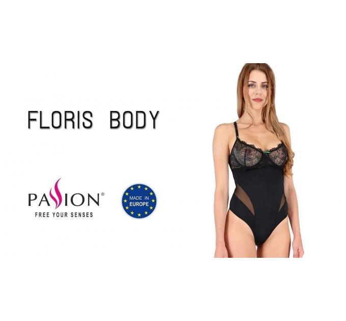 Боди FLORIS BODY black L/XL - Passion Exclusive