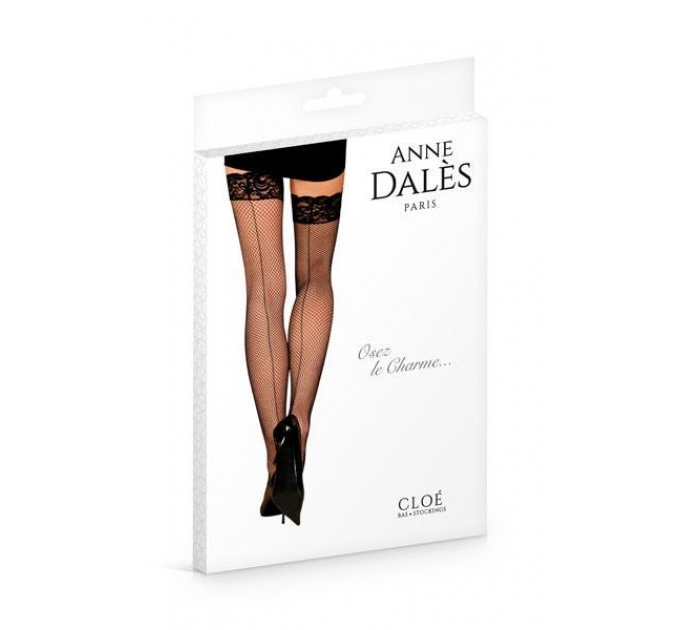 Чулки Anne De Ales CLOE T2 Black