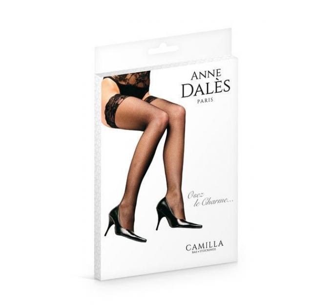 Чулки Anne De Ales CAMILLA T1 Black