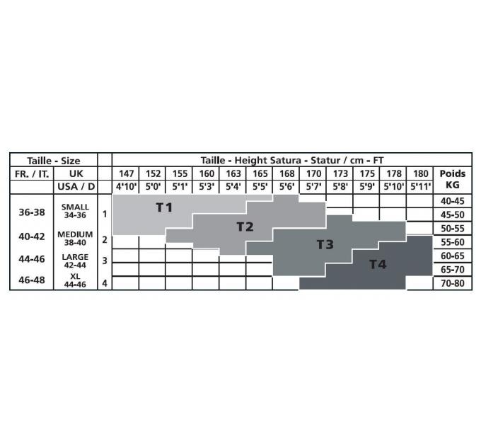 Чулки с поясом Anne De Ales TOSCA T4 Black, средняя сеточка, сзади стрелки, кружевной пояс