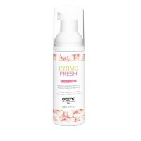 Пена для интимной гигиены EXSENS Intime Fresh 150мл, экстракт розы и алоэ вера, натуральная
