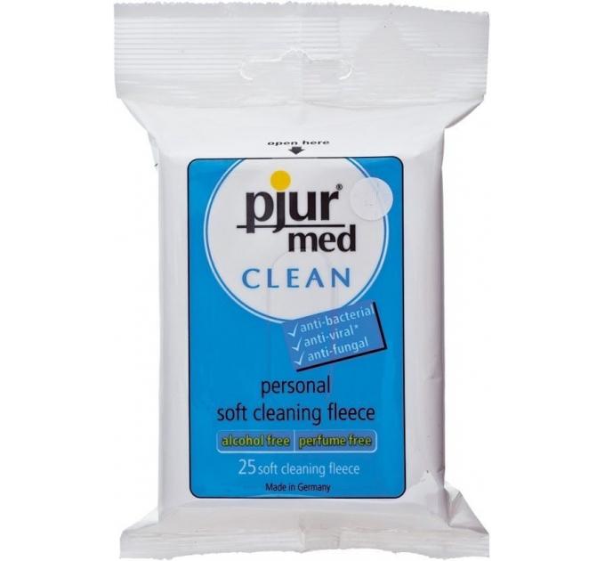 Влажные салфетки pjur MED Clean 25 штук