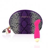 Вибратор для точки G Rianne S: Boa Mini Pink, 10 режимов работы, медицинский силикон