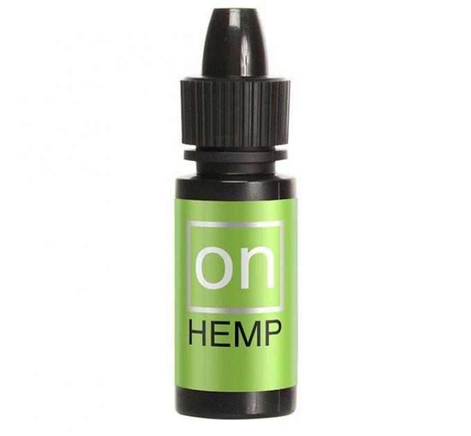 Возбуждающе капли для клитора Sensuva - ON for Her Hemp Infused Arousal Oil (5 мл) с маслом конопли