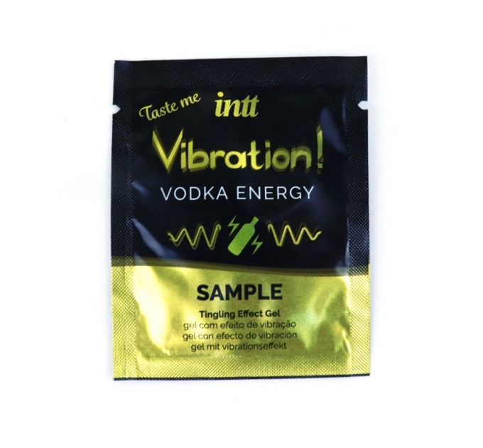 Пробник жидкого вибратора Intt Vibration Vodka (2 мл) очень мощный