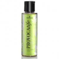 Массажное масло Sensuva: Provocatife Hemp Oil Infused Massage (125 мл) с феромонами и маслом конопли