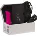Минивибратор The Mini Swan Rose с плавным увеличением интенсивности вибрации, силикон
