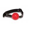 Классический кляп с шариком Sex And Mischief - Solid Red Ball Gag