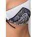 Комплект белья SUELO SET white L/XL - Passion Exclusive: лиф, стринги, пояс для чулок