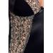 Корсет с пажами MONTANA CORSET black L/XL - Passion Exclusive, трусики