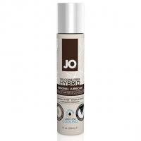 Охлаждающая крем-смазка с кокосовым маслом System JO Silicone Free Hybrid COOLING (30 мл) белая