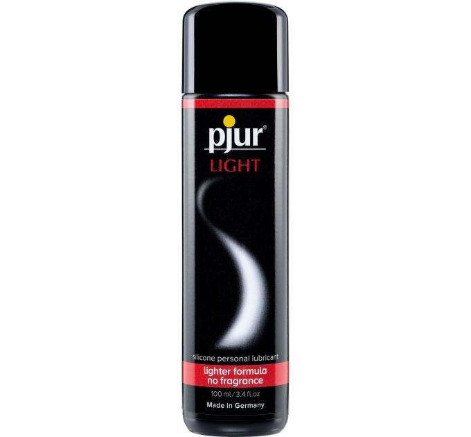 Силиконовая смазка pjur Light 100 мл самая жидкая, 2-в-1 для секса и массажа