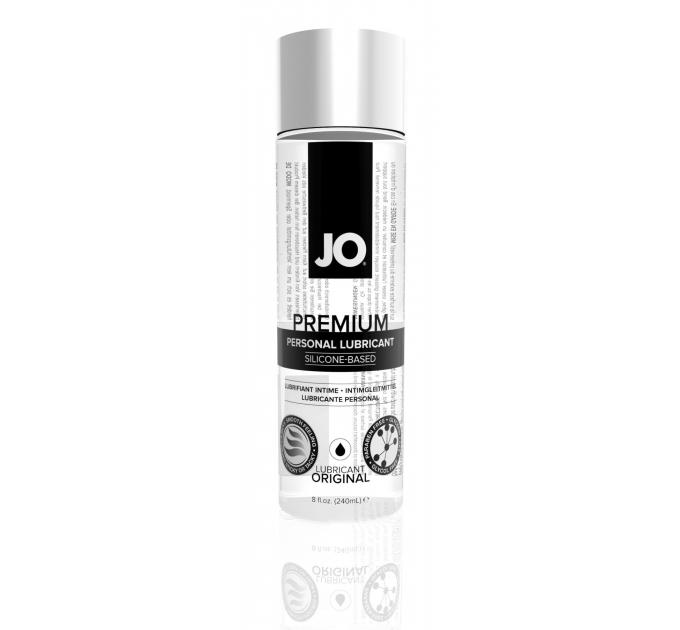 Лубрикант на силиконовой основе System JO PREMIUM - ORIGINAL (240 мл) без консервантов и отдушек