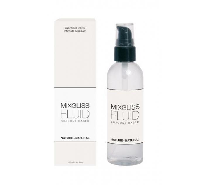 Лубрикант на силиконовой основе MixGliss FLUID NATURE (100 мл) без запаха