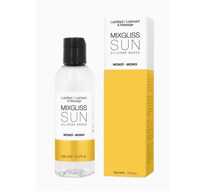Лубрикант на силиконовой основе MixGliss SUN MONOI (100 мл) с ароматом масла Монои