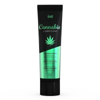 Лубрикант на водной основе Intt Cannabis (100 мл) с маслом семян конопли, не растекается