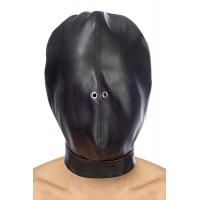 Капюшон для БДСМ Fetish Tentation Closed BDSM hood in leatherette