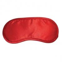 Маска на глаза Sex And Mischief - Satin Red Blindfold, тканевая, красная