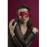 Маска на лицо Feral Feelings - Mistery Mask натуральная кожа, красная