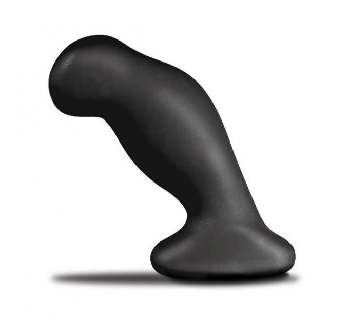 Массажер простаты Nexus Silo Black, 2-в-1: массажер и анальная пробка, можно кипятить