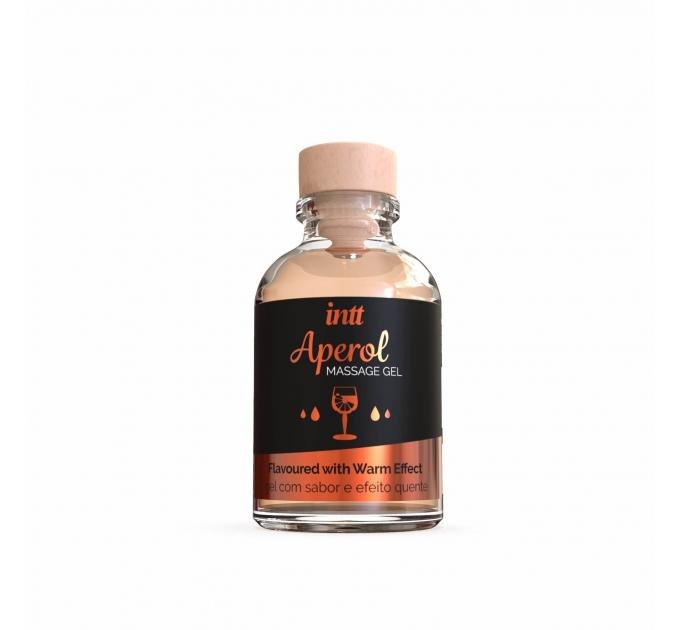 Массажный гель для интимных зон Intt Aperol (30 мл) разогревающий