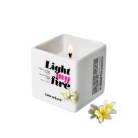 Массажная свеча Love To Love LIGHT MY FIRE Monoi (80 мл) без парабенов и консервантов