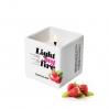 Массажная свеча Love To Love LIGHT MY FIRE Strawberry (80 мл) без парабенов и консервантов