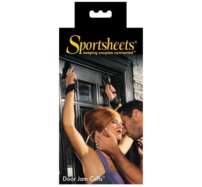 Набор подвесов на двери с наручникам Sportsheets Door Jam Cuffs