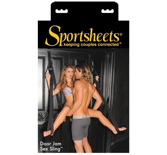 Секс-качели на дверь Sportsheets Door Jam Sex Sling с ручками для ног и рук