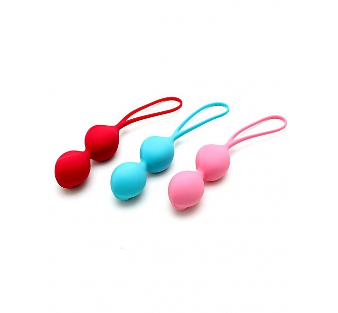Вагинальные шарики Satisfyer V Balls (3 пары), диаметр 3,4см, вес 79-114-150гр