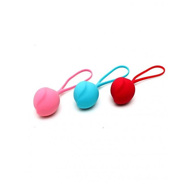 Вагинальные шарики Satisfyer Strengthening Balls (3шт), диаметр 3,8см, вес 62-82-98гр, монолитные