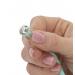 Роскошные вагинальные шарики PILLOW TALK - Frisky Teal с кристаллом, диаметр 3,2см, вес 49-75гр