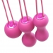 Набор вагинальных шариков Je Joue - Ami Fuchsia, диаметр 3,8-3,3-2,7см, вес 54-71-100гр