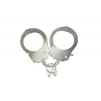 Наручники металлические Adrien Lastic Handcuffs Metallic (полицейские)