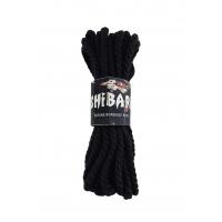 Хлопковая веревка для Шибари Feral Feelings Shibari Rope, 8 м черная