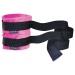 Наручники Sportsheets Kinky Pinky Cuffs тканевые, с лентами для фиксации