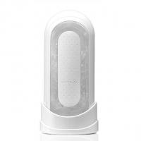Мастурбатор Tenga Flip Zero White, изменяемая интенсивность стимуляции, раскладной