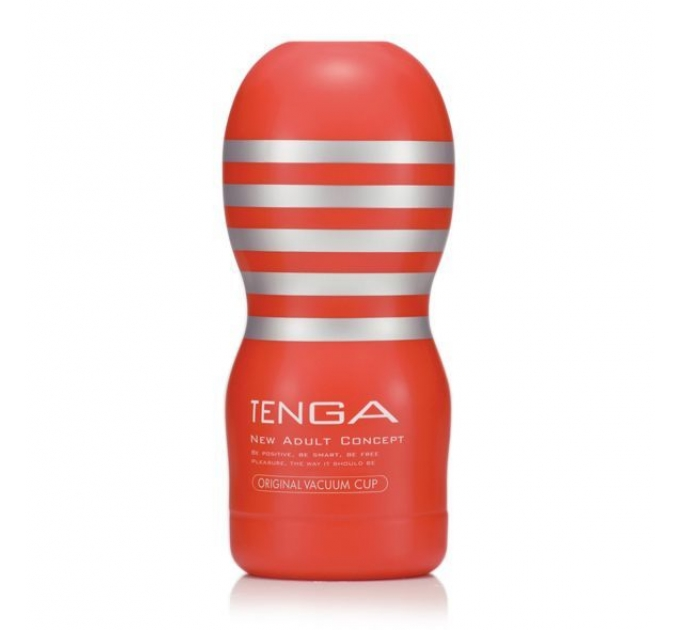 Мастурбатор Tenga Deep Throat (Original Vacuum) Cup (глубокая глотка) с вакуумной стимуляцией