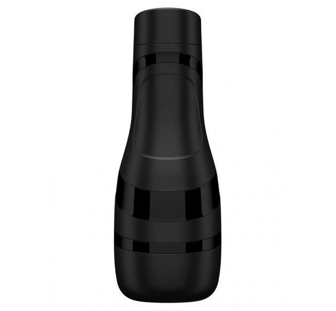 Мастурбатор Satisfyer Men Classic (Black), нежный материал, удобный корпус