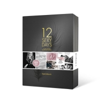 Подарочный меганабор Bijoux Indiscrets - 12 SEXY DAYS: 12 сюрпризов в виде игрушек и аксессуаров
