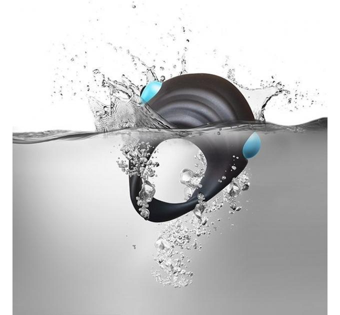 Вибронабор Rock off Men-X IBEX: анальная вибропробка и эрекционное виброкольцо