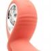 Анальный вибратор KisToy Klein Orange с надувающимся кончиком, unisex, диаметр 35-50мм