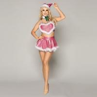 Новогодний эротический костюм Блестящая Шелли S/M