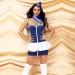 Эротический костюм стюардессы Любвеобильная Жанетта S/M, платье, шейный платок, пилотка