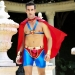 """Мужской эротический костюм супермена """"Готовый на всё Стив"""" S/M: плащ, портупея, шорты, манжеты"""