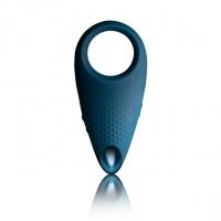 Эрекционное кольцо с вибрацией Rocks Off Empower Blue