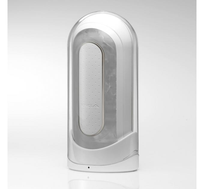 Мастурбатор Tenga Flip Zero Electronic Vibration White, изменяемая интенсивность, раскладной
