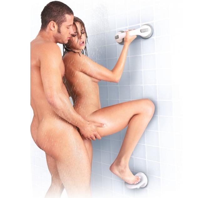 Опора для ноги Sportsheets Single Locking Suction Foot Rest для секса в душе