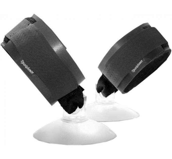 Пара наручников с присоской Sportsheets Suction Cup Hand Cuffs для крепления на гладкую поверхность